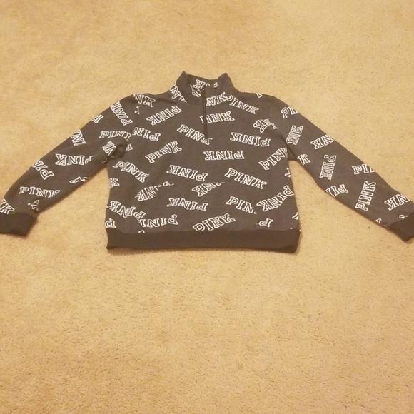 PINK Victoria's Secret Tops - Pin Brand front zip sweatshirt